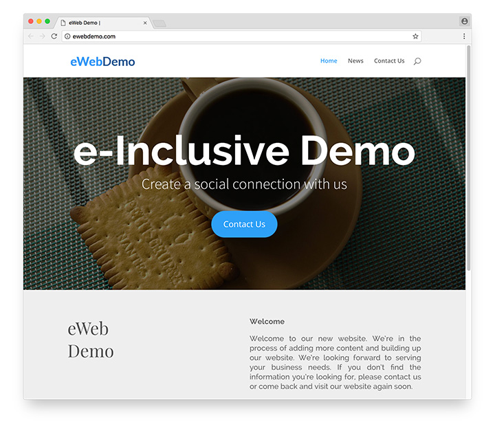 Wordpress Website Screenshot